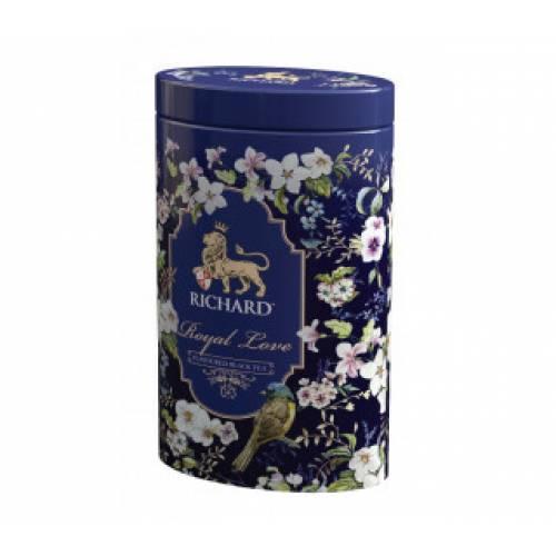 Чай RICHARD Royal Love в железной банке, 80 г