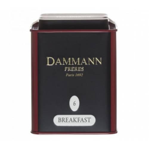 Чай DAMMANN Breakfast в железной банке, 100 г