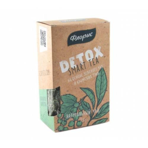 Чай травяной FLORIS Детокс, 75 г