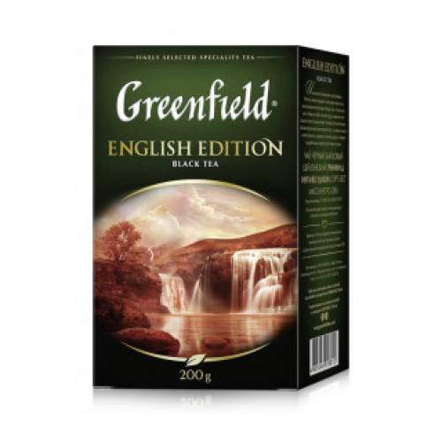 Чай GREENFIELD English Edition, 200 г