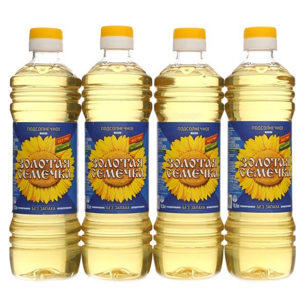 Купить лучшее подсолнечное масло в интернет-магазине Vkustorg